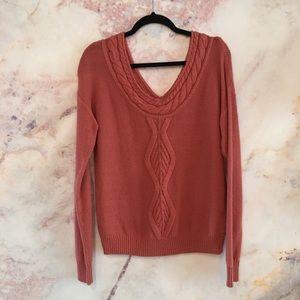 Roxy Summer Sweater in Dusty Pink